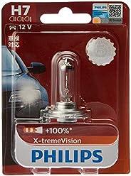 Philips X-treme Vision Plus 100% H7 12V globe - single blister pack