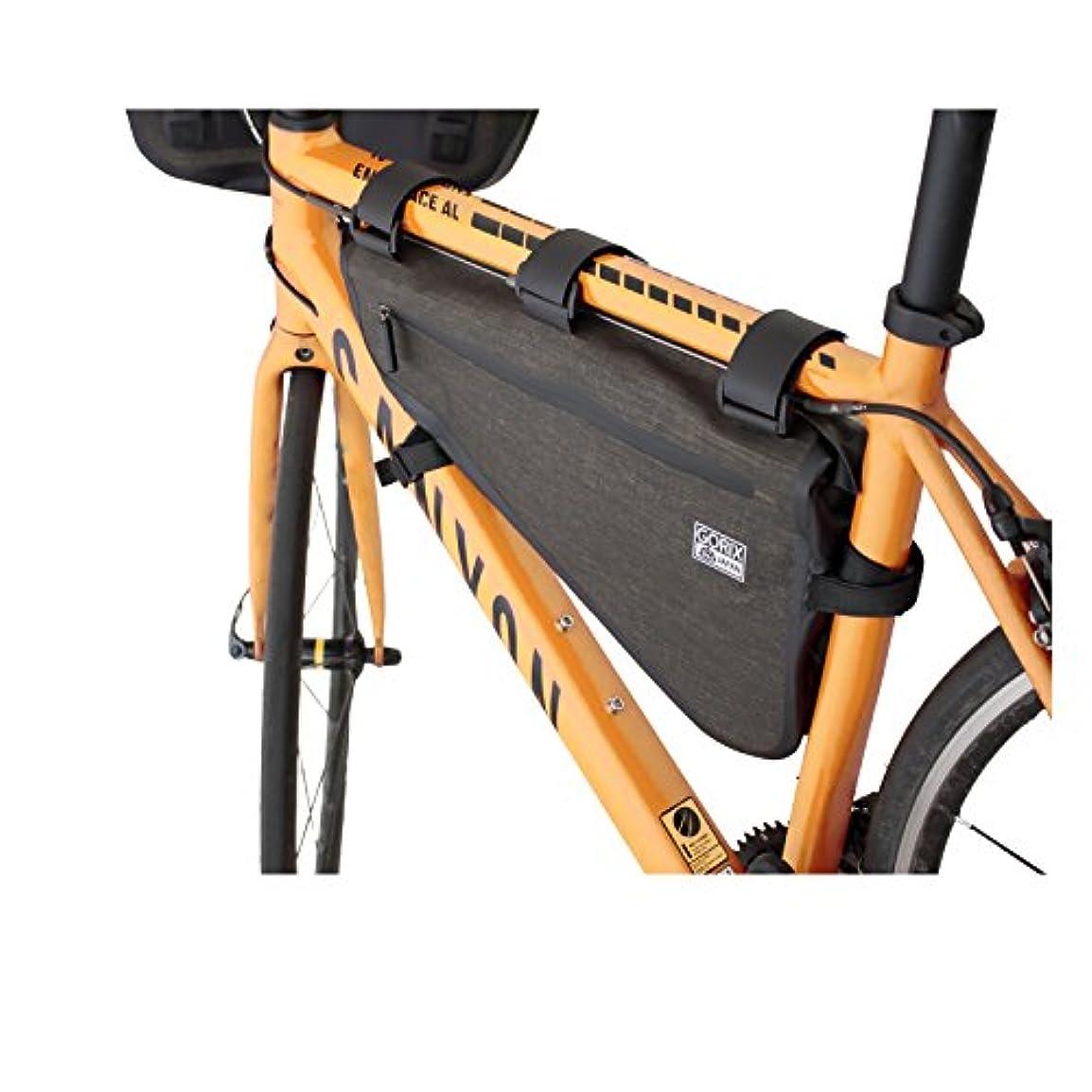 ギャップギャングスター熟すGORIX ゴリックス 高防水 ドライ トライアングルバッグ 防水 自転車 8L サイクルバッグ (B13)