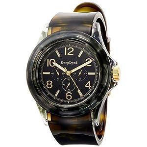 [フィールドワーク]Fieldwork 腕時計 ファッションウォッチ トラヤ アナログ PVCベルト ブラック DT130-3 レディース