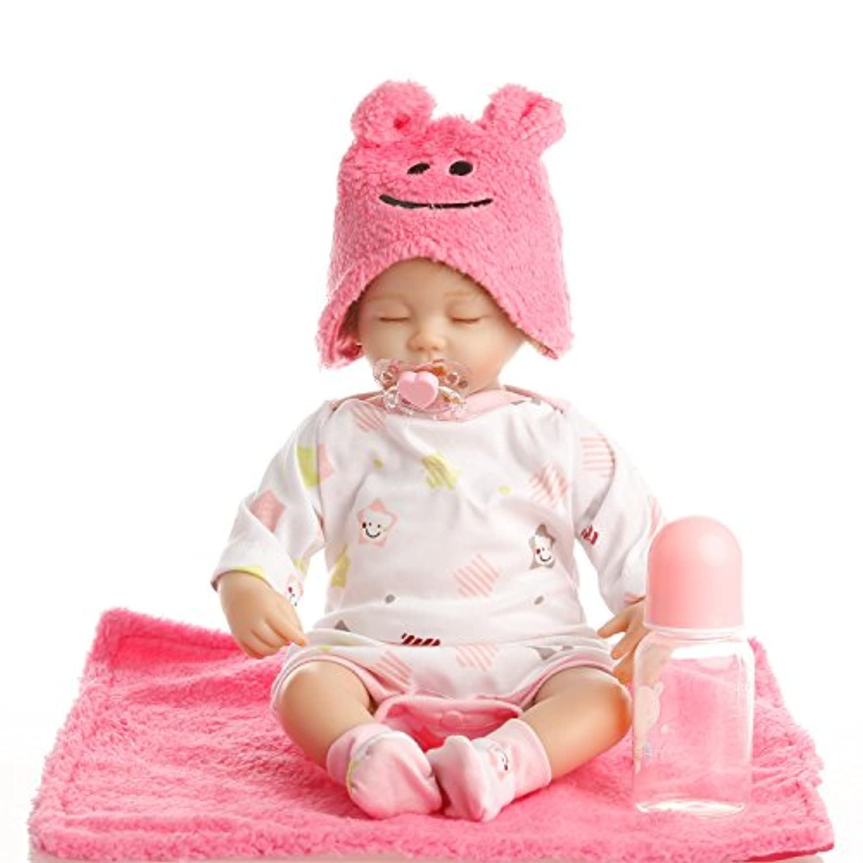 NPK collection Rebornベビー人形リアルな赤ちゃん人形ビニールシリコン赤ちゃん18インチ45 cm人形新生児赤ちゃんレッドSleeping人形