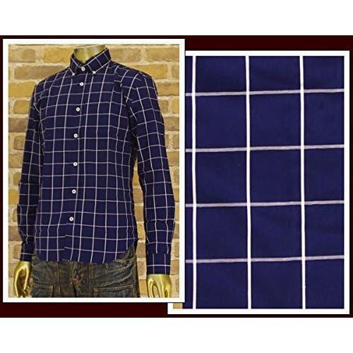 キャンディファンタジー CANDY FANTASY ウィンドペン BDシャツ メンズ 15026-2ウィンドペ ネイビー L