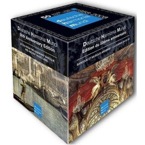 輸入盤CD 独ハルモニア・ムンディ50周年記念Box 50 Years 1958-2008(50枚組)のAmazonの商品頁を開く