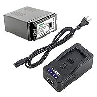 Kastar LED充電器、バッテリーfor vw-vbg6vbg6