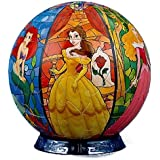 3D球体パズル ディズニー 60ラージピース プリンセスファンタジー (直径約15.2cm)
