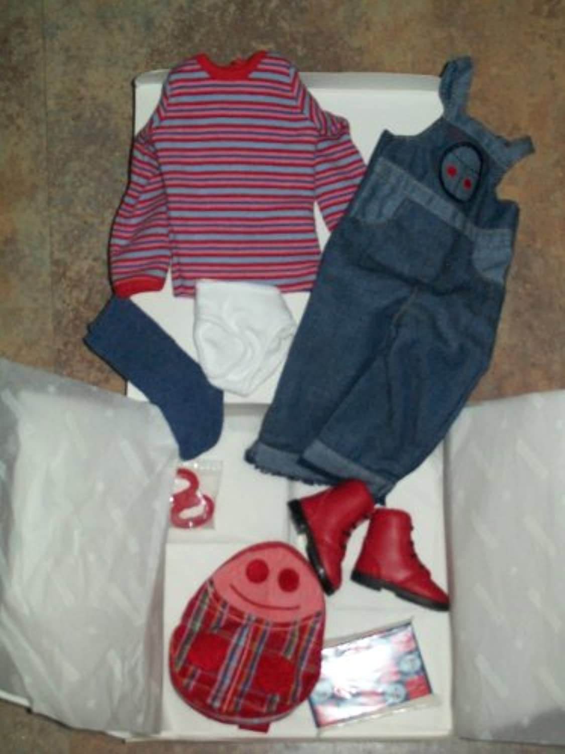 American Girl人形Logan Retiredてんとう虫Outfit (人形is not included )