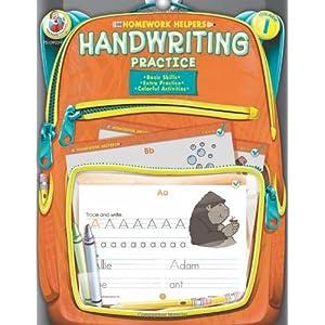 Homework Helpers Handwriting Practice Grade 1