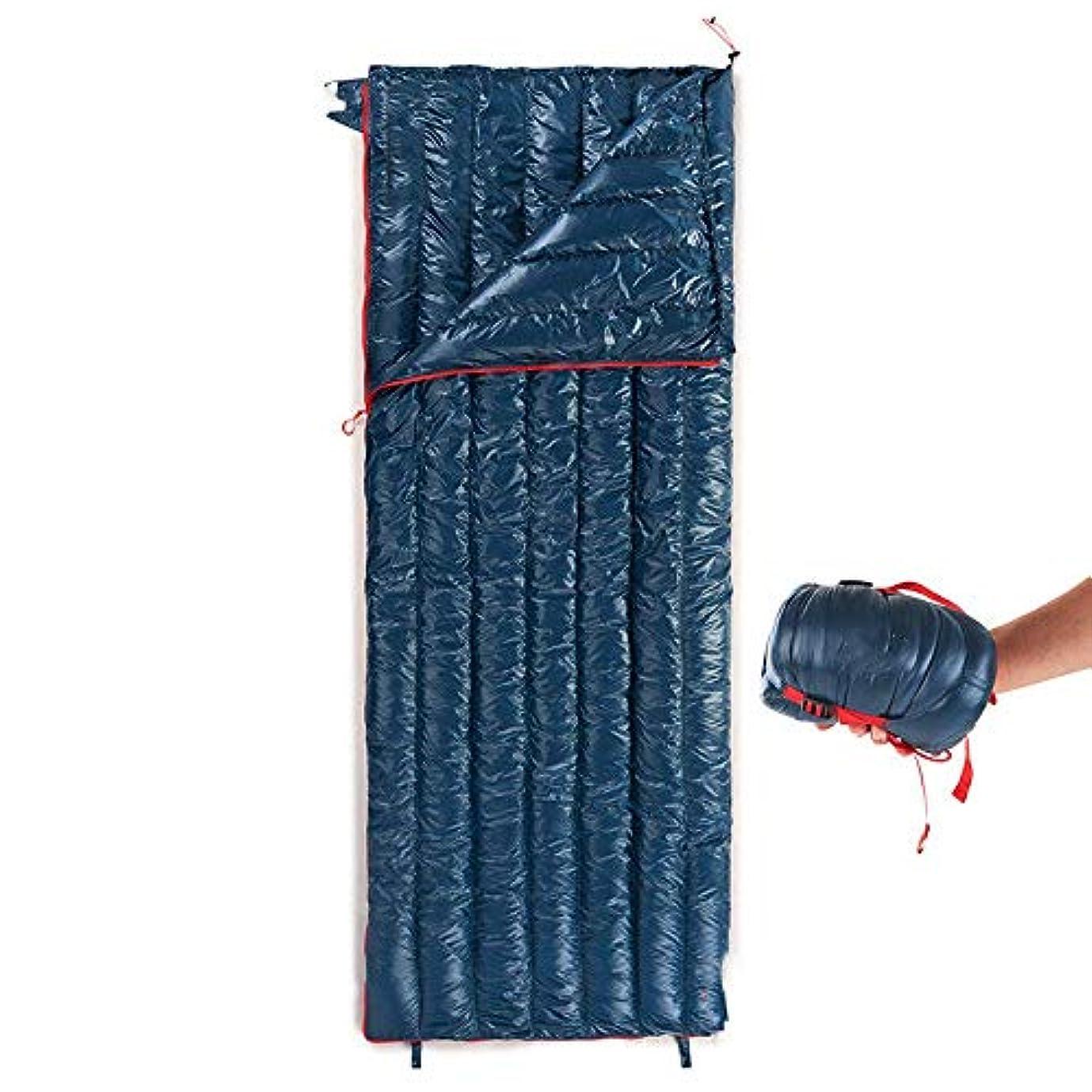 封筒暖かい寝袋屋外キャンプハイキング超軽量コットン寝袋