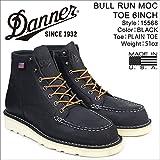 ダナー ブーツ BULL RUN MOC TOE 6INCH 15568 メンズ ブラック US8.0-26.0 (並行輸入品)