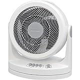 アイリスオーヤマ サーキュレーター 静音 首振り ~20畳 ホワイト PCF-HM23-W