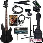 SELDER セルダー ベース プレシジョンベースタイプ PBC-04/BB VOX amPlug2【アンプラグ2 AP-BS(BASS)】サクラ楽器オリジナルセット