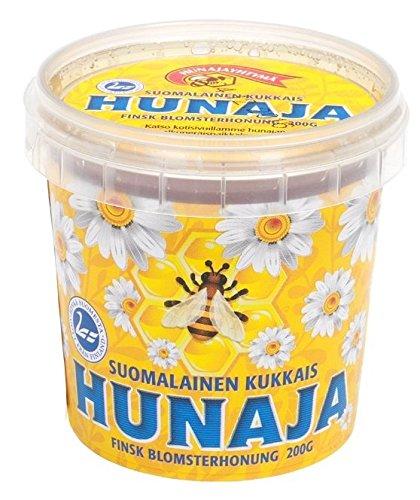 世界最北端のハチミツ。短い夏に採蜜される貴重なハチミツです