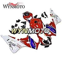 WYNMOTO オートバイ ABS プラスチック完全フェアリングキットホンダ CBR1000RR CBR 1000RR 年 2017 2018 17 18 Sportbike ボディワークインジェクショングロスレッドブルーカウリング新しい