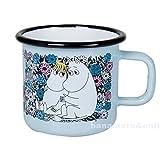 Muurla Moomin(ムールラ ムーミン) / ホーロー マグカップ 370ml Sweetheart ムーミン&フローレン(スノークのおじょうさん) (琺瑯 ホウロウ)