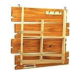 Wood Shelf -Wall(Brown)