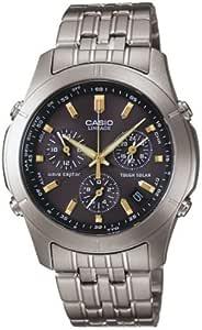[カシオ]CASIO 腕時計 WAVE CEPTOR ウェーブセプター LINEAGE リニエージ ソーラー電波時計 チタンモデル LIW-600TDJ-1AJF メンズ