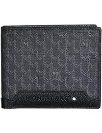 Montblanc Signature Black Nylon 8CC Wallet [並行輸入品]
