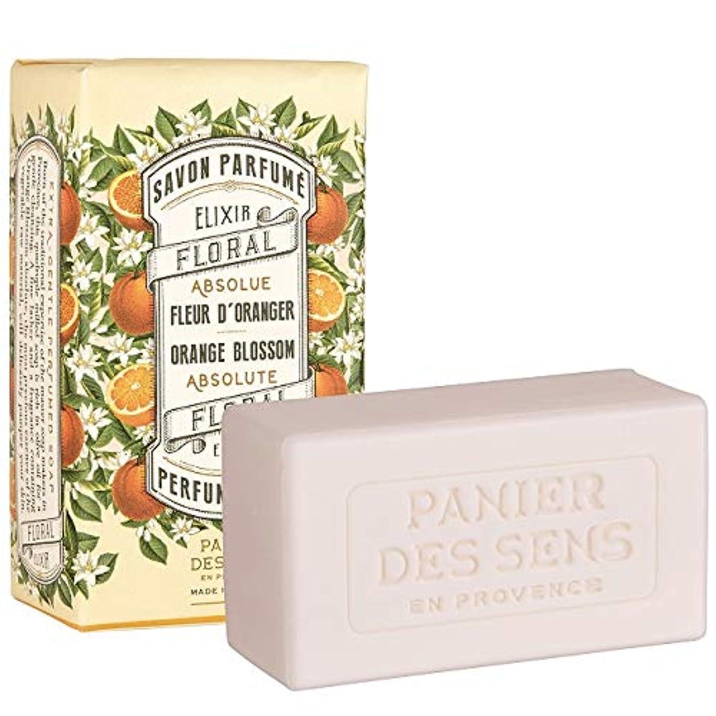 カニ継続中速いPanierdessens(パニエデサンス) アブソリュートオレンジブロッサム パフュームドソープ 石鹸 ビターで魅力的な香り 150g