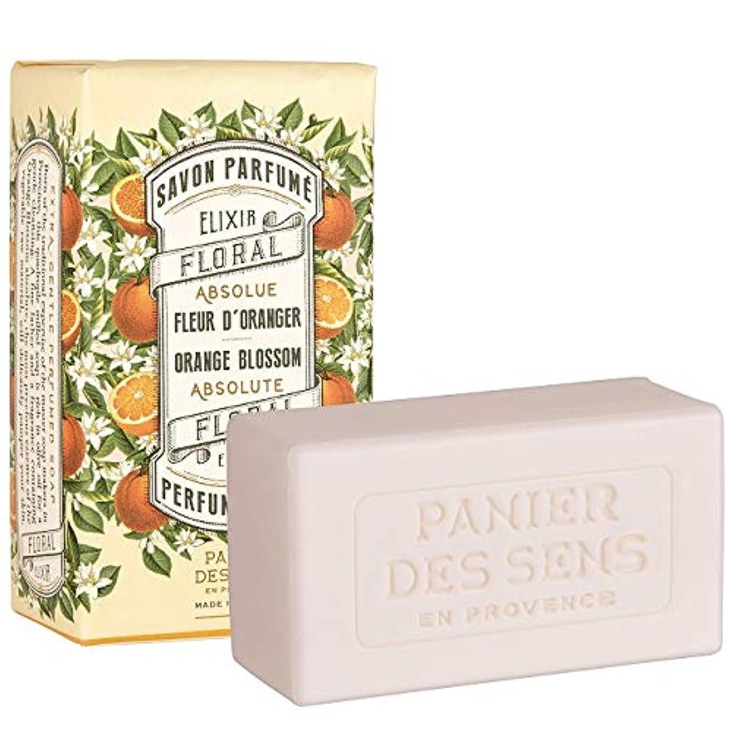 ドキドキ保護とんでもないPanierdessens(パニエデサンス) アブソリュートオレンジブロッサム パフュームドソープ 石鹸 ビターで魅力的な香り 150g