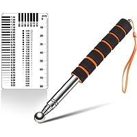 CMD 打音診断棒 打診ハンマー 伸縮式 約130cm クラックスケール付き 剥離 外壁 検査