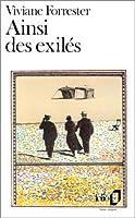 Ainsi Des Exiles (Folio)