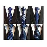 LOLONG ネクタイ 6本セット ビジネス用 (Style-18)