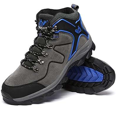 [LoZoDo] ハイキングシューズ メンズ 防水 防滑 トレッキングシューズ 大きいサイズ ハイカット アウトドア シューズ 通気性 スエード 耐磨耗 登山靴 レディース