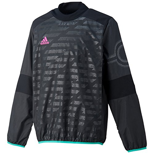 (アディダス)adidas サッカーウェア X Rengi ウィンドピステ 長袖シャツ BGZ89 [メンズ] AJ1279 ブラック J/L