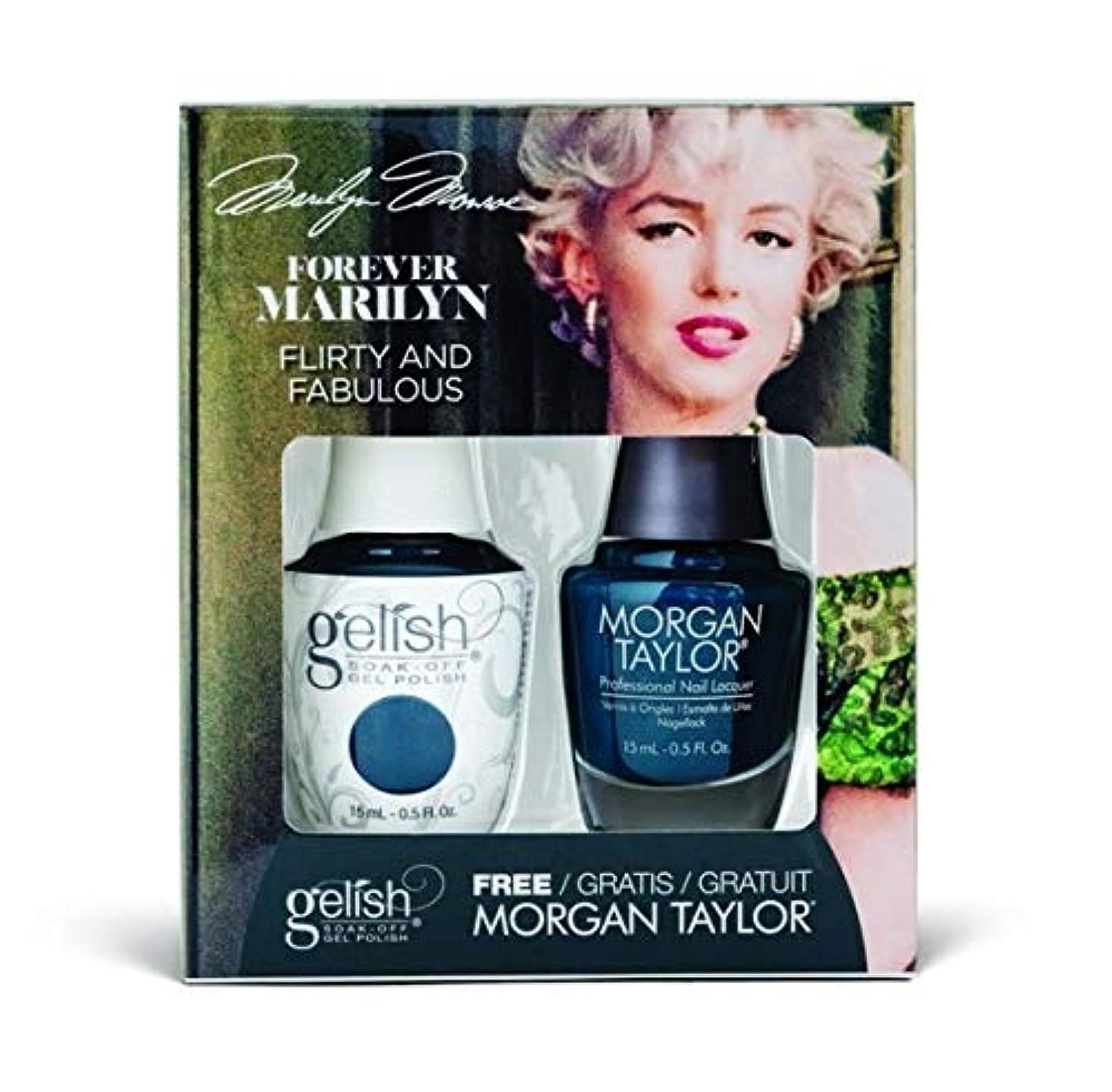 議題性差別ガイドHarmony Gelish - Two of a Kind - Forever Marilyn Fall 2019 Collection - Flirty and Fabulous - 15ml / 0.5oz