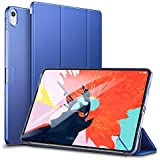 ESR Case for iPad Pro 11 inch 2018 Release[All-Screen][Apple Pencil Charging not Supported] Lightweight Smart Case, Trifold Stand, Microfiber Lining, Hard Back Cover, Compatible with The Apple iPad Pro 11 inch (2018 Release), Navy Blue