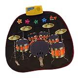 Fityle 布 ミュージカルカーペット マット パッド ジャズドラム 子供 音楽おもちゃ ギフト