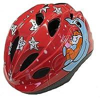 Polisport(ポリスポート) 子供用 自転車 ヘルメット スリーピーベア レッド XS 48-52cm  XS 48-52cm
