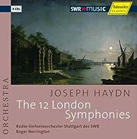 ハイドン:ロンドン交響曲集(全12曲)/ノリントン (Haydn : The 12 London Symphonies / Norrington, RSO Stuttgart) (4CD)