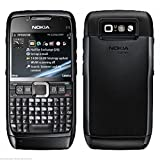 Nokia E71 Unlocked GSM Smart Cell Phone with Symbian QWERTY Keyboard GSM AT&T T-Mobile (Black) [並行輸入品]