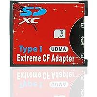 OSEI CFアダプター MMC/SDXC/SDHC/SDカード から CFカード TypeI  WIFI SD カード対応 変換 CFアダプター CF変換アダプタ 高速 WIFI CF カード変換(SD→CF)