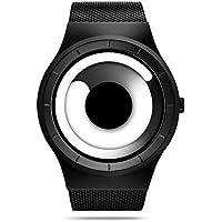 SINOBI 9659GファッションクリエイティブConcept Watches for Men Quartz Watches Withステンレススチール腕時計ストラップ