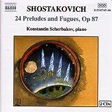 ショスタコーヴィチ:24の前奏曲とフーガ Op. 87(シチェルバコフ) 画像
