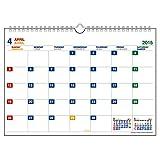 エトランジェ 2015年4月始まり壁掛カレンダー A4 CLM43-A4-01 ホワイト