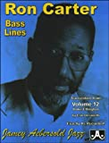 Ron Carter Bass Lines (Aebersold Play-a-Long Series)