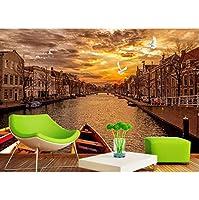 Mingld 注文の壁画3Dの壁紙ヴェネツィアの家の装飾絵画3D壁の壁画の壁紙-400X280Cm