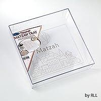 Rite Lite ppta-1正方形アクリルMatzahトレイ–3のパック