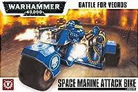 Warhammer 40,000 Battle For Vedros Space Marine Attack Bike 20-06
