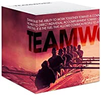 Successories 721060 Teamwork Rowers Self-Stick Note Cube [並行輸入品]