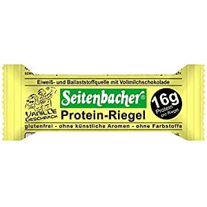 (seitenbacher) ザイテンバッハプロテインバー12本入り (バニラ)