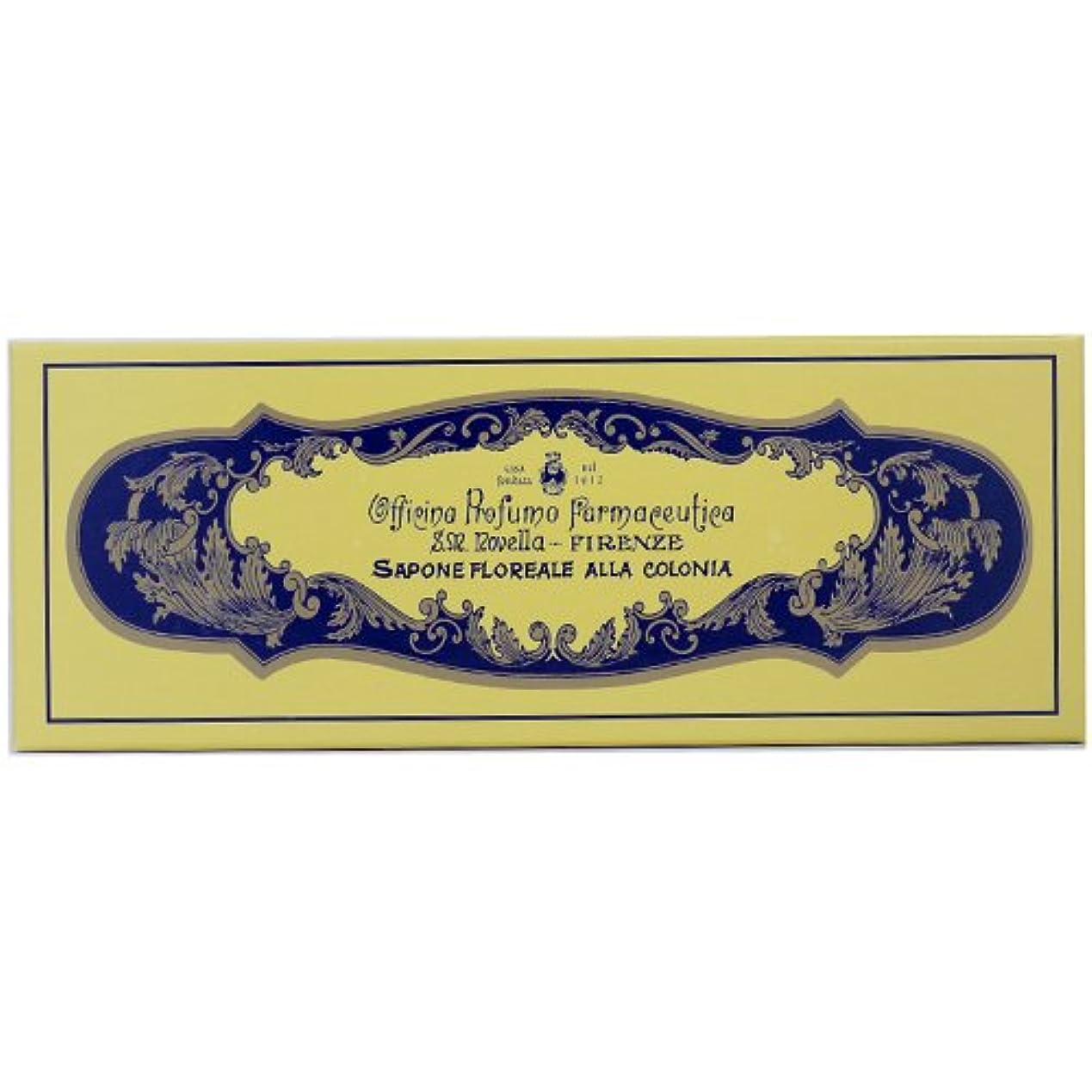 水差し刺繍モートサンタマリアノヴェッラ フローラルコロン ソープ 85g×4 【並行輸入品】