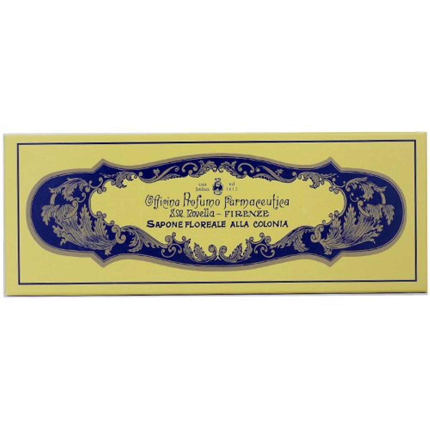 マダム国籍研磨剤サンタマリアノヴェッラ フローラルコロン ソープ 85g×4 【並行輸入品】