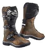 TCX Baja防水Adventure Motorcycle Bootsブラウン( Moreサイズオプション) EU43/US9 ブラウン TCX-9920W MARR 43