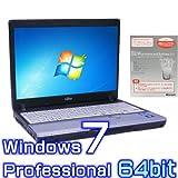 中古ノートパソコン 富士通 LIFEBOOK P772/F【Windows7 Pro 64bit・SSD搭載・Microsoft Office 2010付き ワード エクセル パワーポイント】