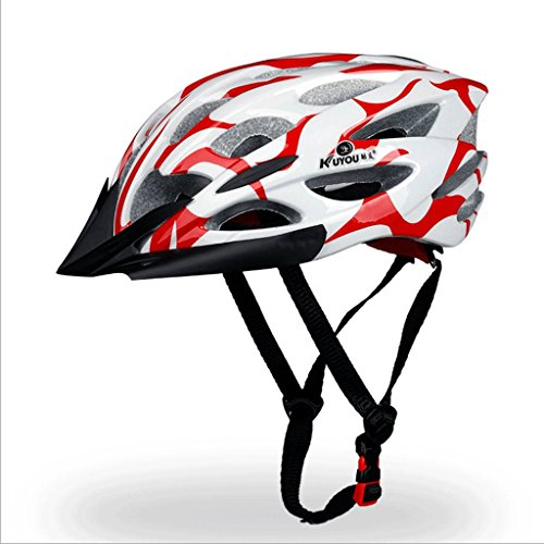 サイクリングヘルメットワンピース成形マウンテンホイールスクー...