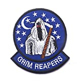 U.S.Navy VF-101 グリムリーパーズ grim reapers 着脱式 ベルクロワッペン アメリカ海軍 空軍