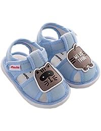 [テンカ]ベビー サンダル ファーストシューズ 子供靴 男の子 女の子 赤ちゃん ご出産祝い お祝い プレゼント キッズサンダル 柔らかい 室内履き ホームシューズ 履き脱ぎやすい 幼児靴 日常履き 歩く練習